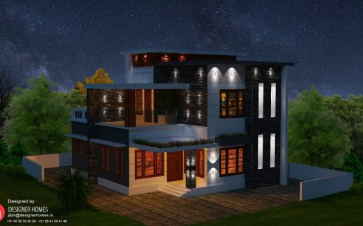 Box type Model House Plans