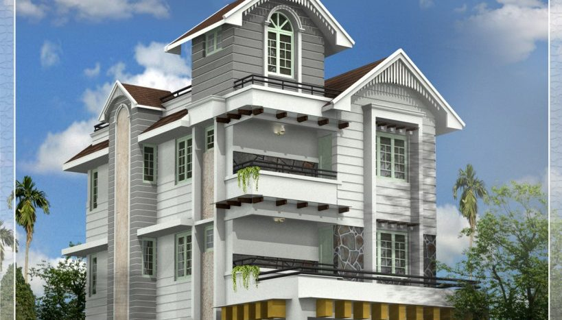 Colonial-type-law-budget-homes-In-kerala