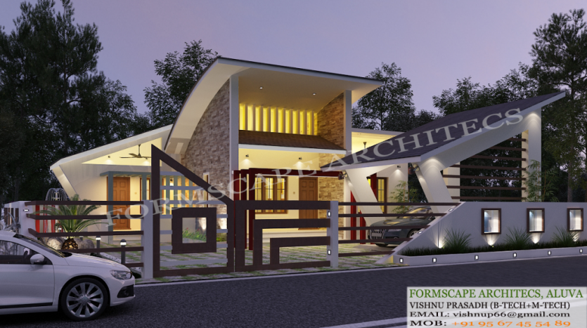 Contemporary Model Plans Kerala