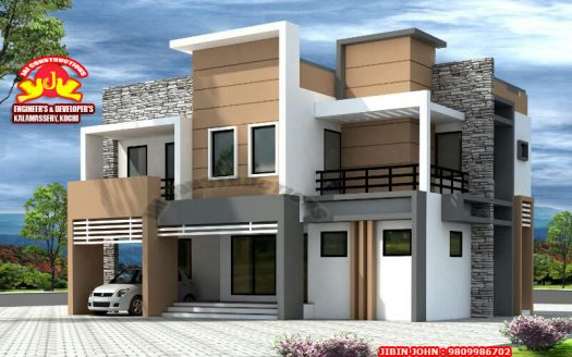 Contemporary model Houses in Kerala