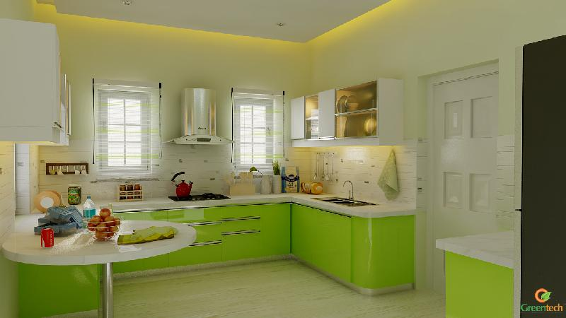European Model Kitchen Design