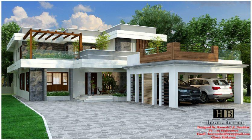 Contemporary House in Kerala