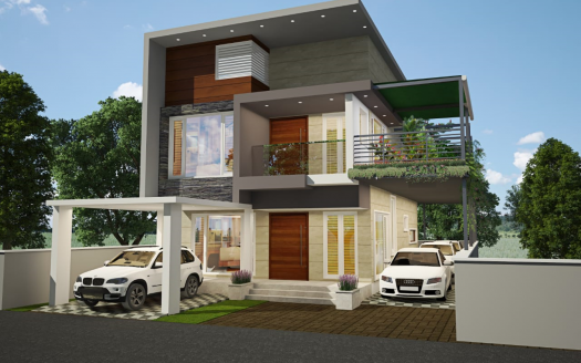 Kerala model contemporary plans