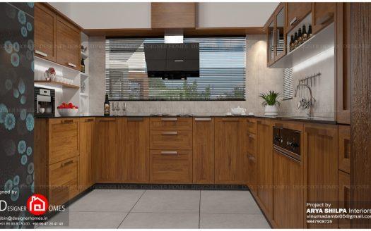 Modular kitchen designs Kerala