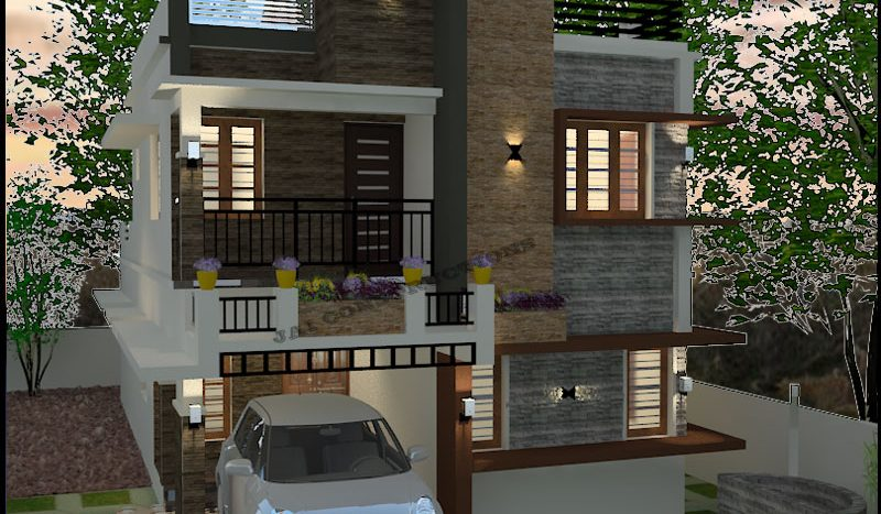 Contemporary model plans in Kerala