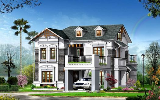 Victorian-type-home-elevation