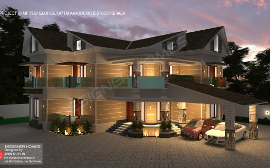 Modern colonial style house andTraditional style homes