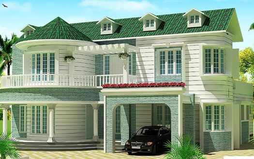 Colonial Ranch Model Home Plans