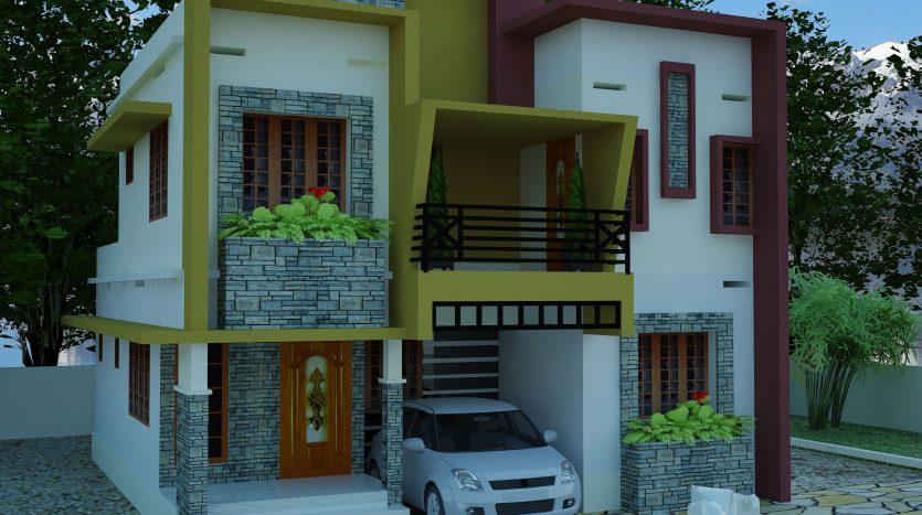 Contemporary model house plans