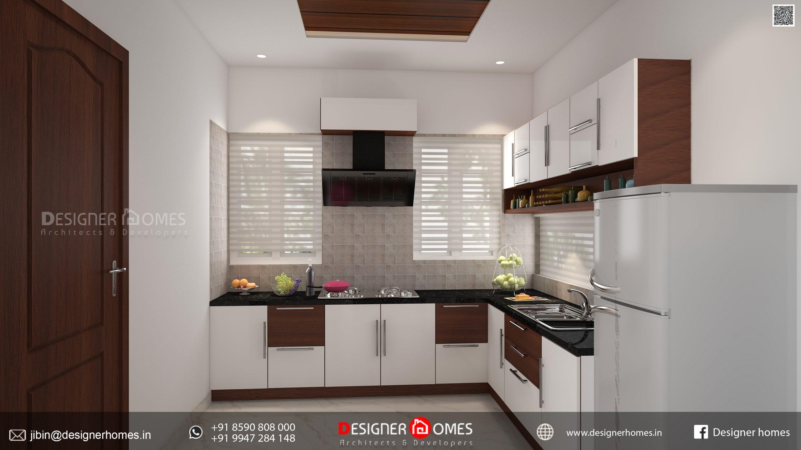 Kerala Modular Kitchen Design   Kerala Model Home Plans